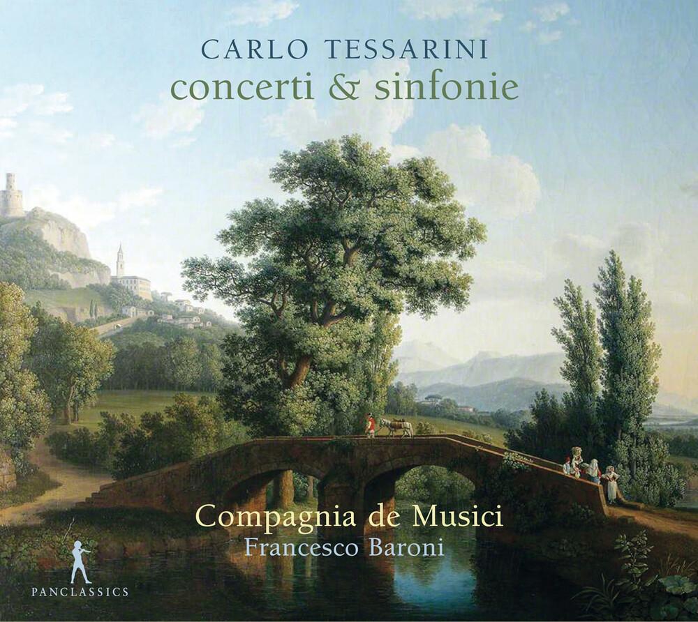 Tessarini / Compagnia De Musici / Baroni - Concerti & Sinfonie