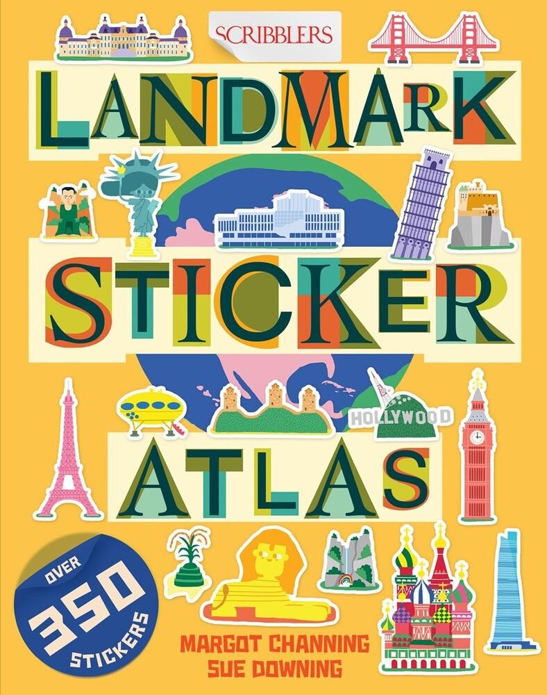 Margot Channing  / Downing,Sue - Landmark Sticker Atlas (Ppbk) (Stic)