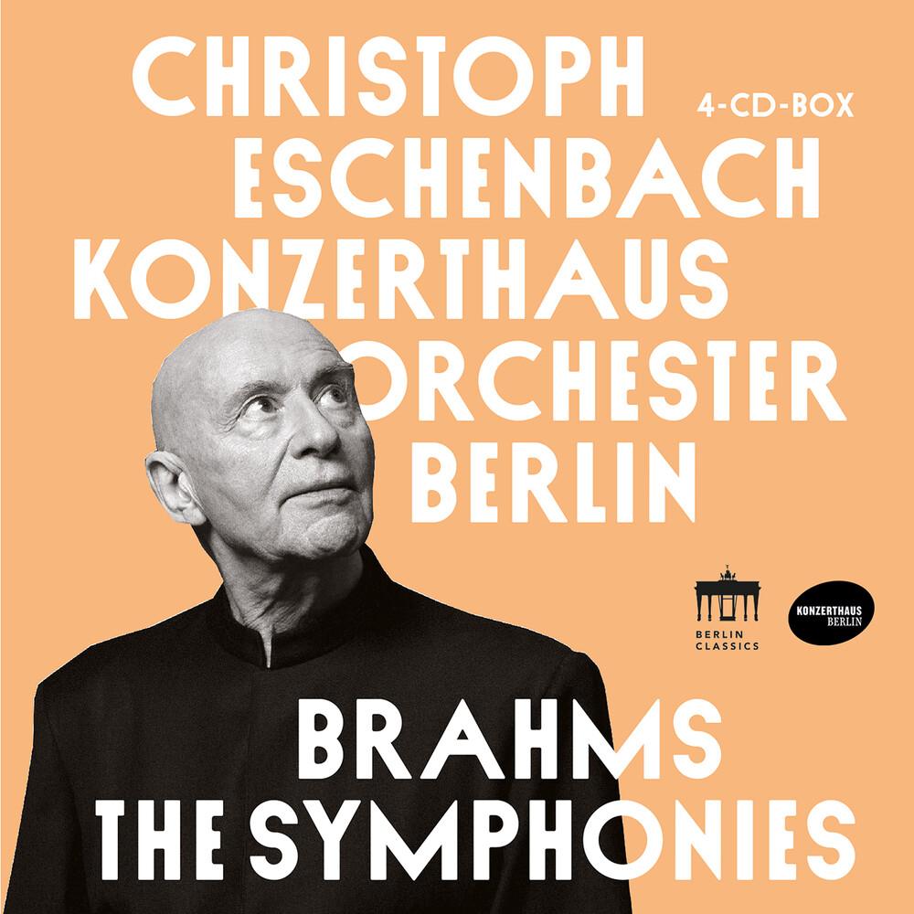 Brahms / Eschenbach / Konzerthausorchester Berlin - Symphonies (4pk)