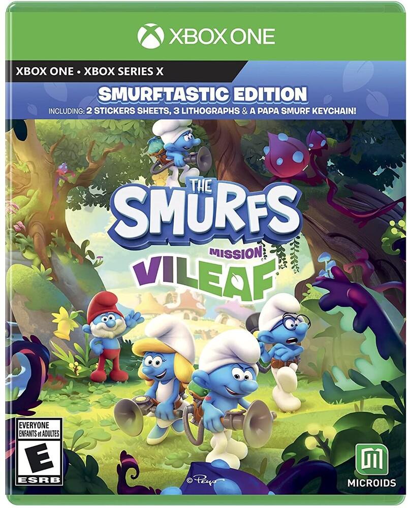 Xb1 Smurfs: Mission Vileaf - Smurftastic Ed - Xb1 Smurfs: Mission Vileaf - Smurftastic Ed