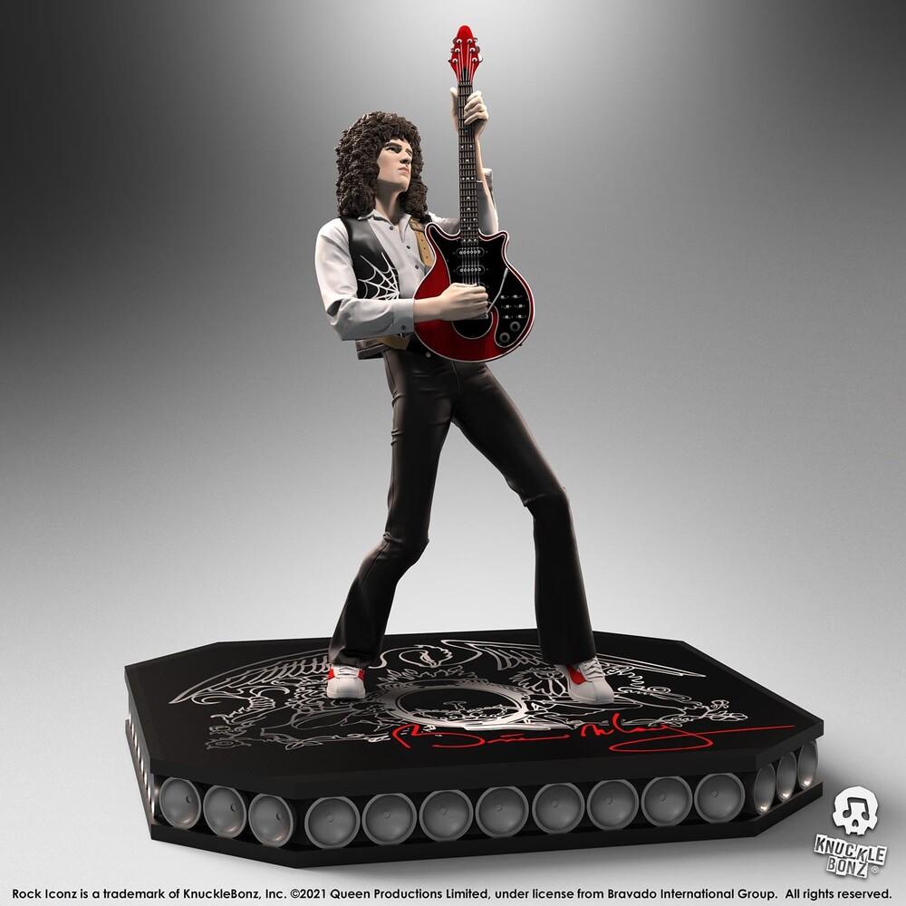 Knucklebonz - Queen Brian May Rock Iconz Statue