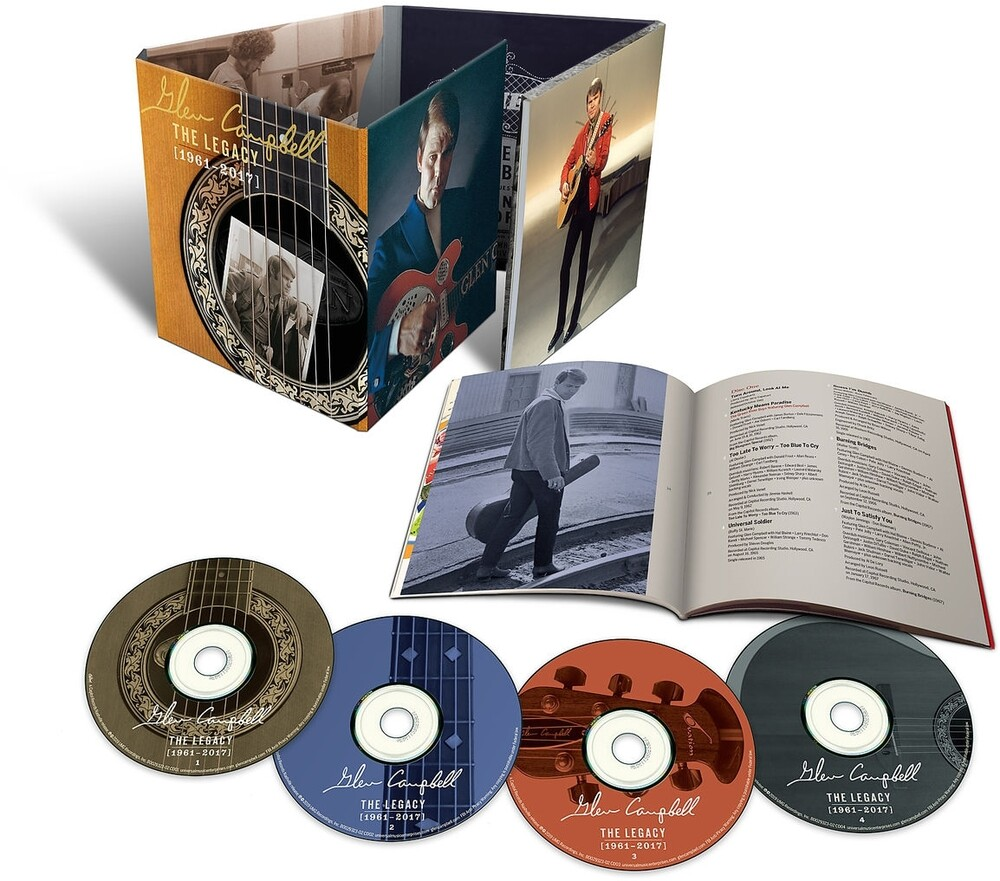Glen Campbell - The Legacy (1971-2017) [4CD]