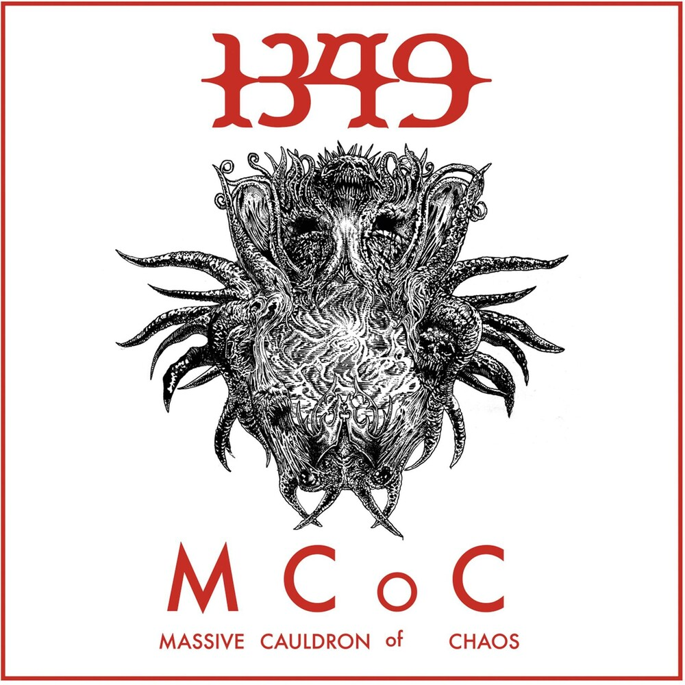 1349 - Massive Cauldron Of Chaos [Limited Edition Green LP]