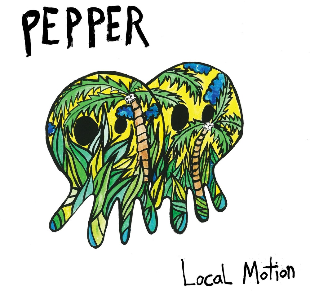 Pepper - Local Motion [Indie Exclusive Limited Edition Green w/ Blue/Yellow Splatter LP]