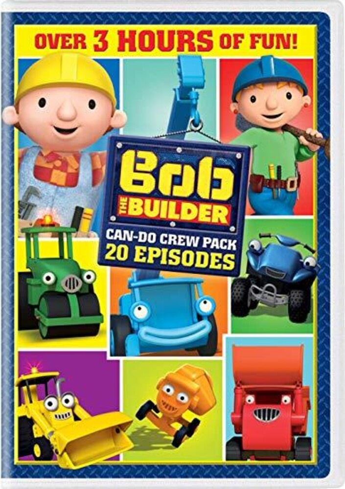 Bob the Builder: 20 Episodes Can-Do Crew Pack - Bob The Builder: 20 Episodes Can-Do Crew Pack