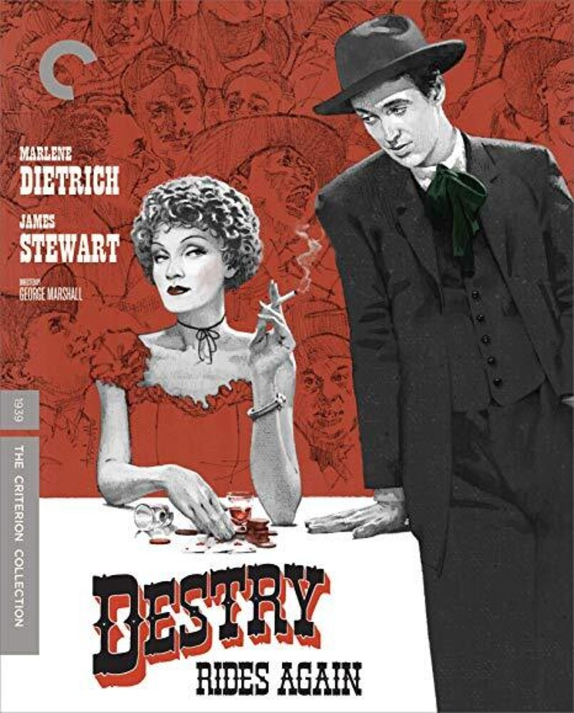 - Destry Rides Again (Criterion Collection)