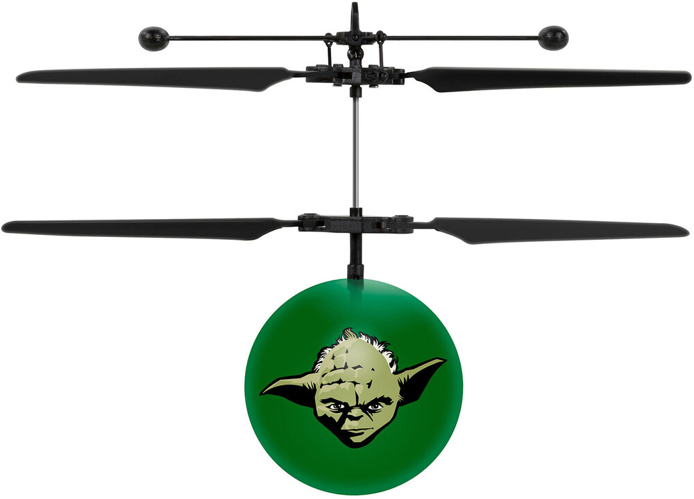 Ufo Flying Ball - Star Wars: Yoda IR UFO Ball Helicopter (Star Wars)