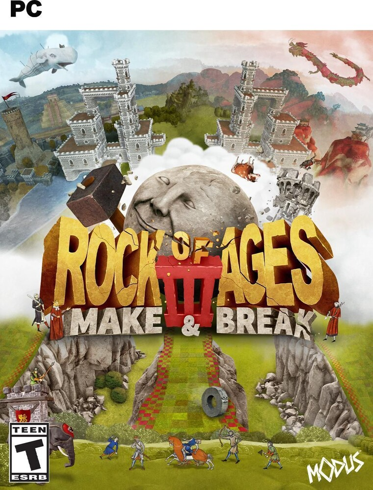 - Rock Of Ages 3 Make & Break (Pc)