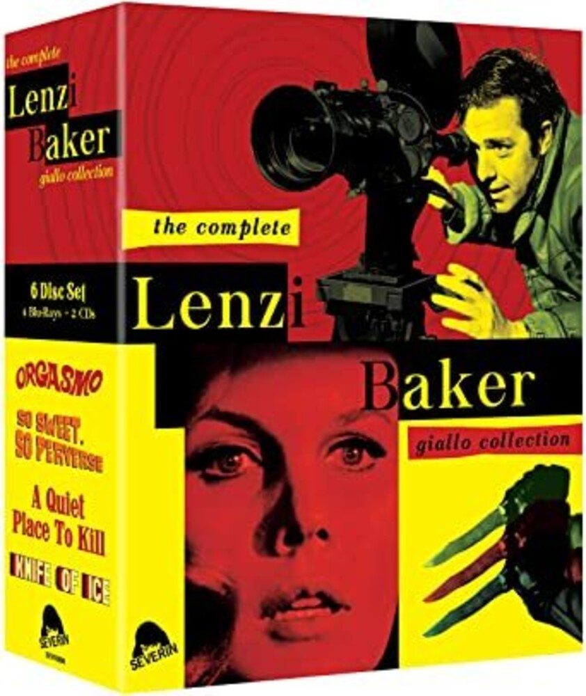 Complete Lenzi / Baker Giallo Collection - Complete Lenzi / Baker Giallo Collection (6pc)