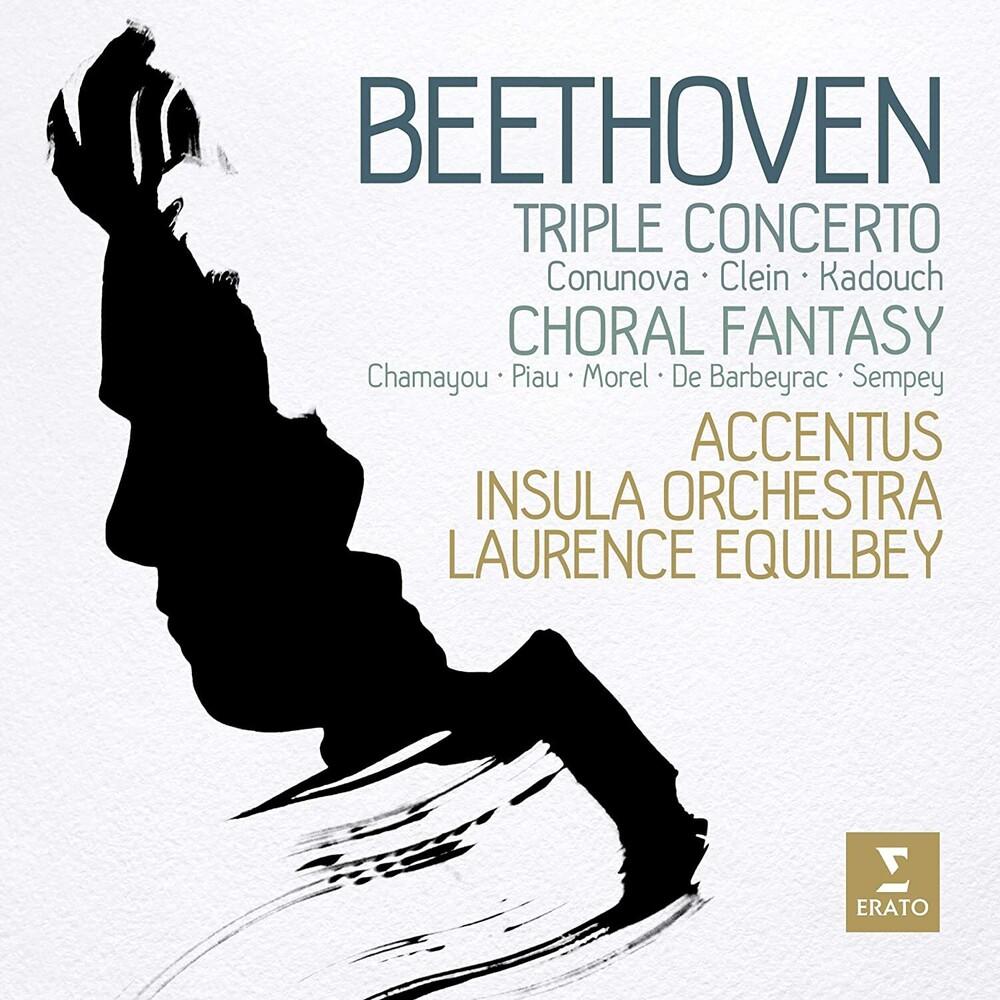 Sandrine Piau / Morel,Anaick - Beethoven: Chorfantasie Triple Concerto [Digipak]