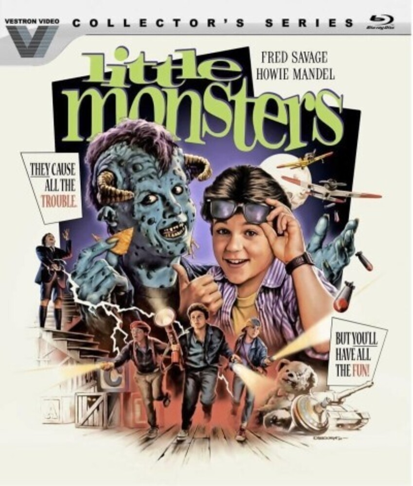 - Little Monsters (Vestron Video Collector's Series)