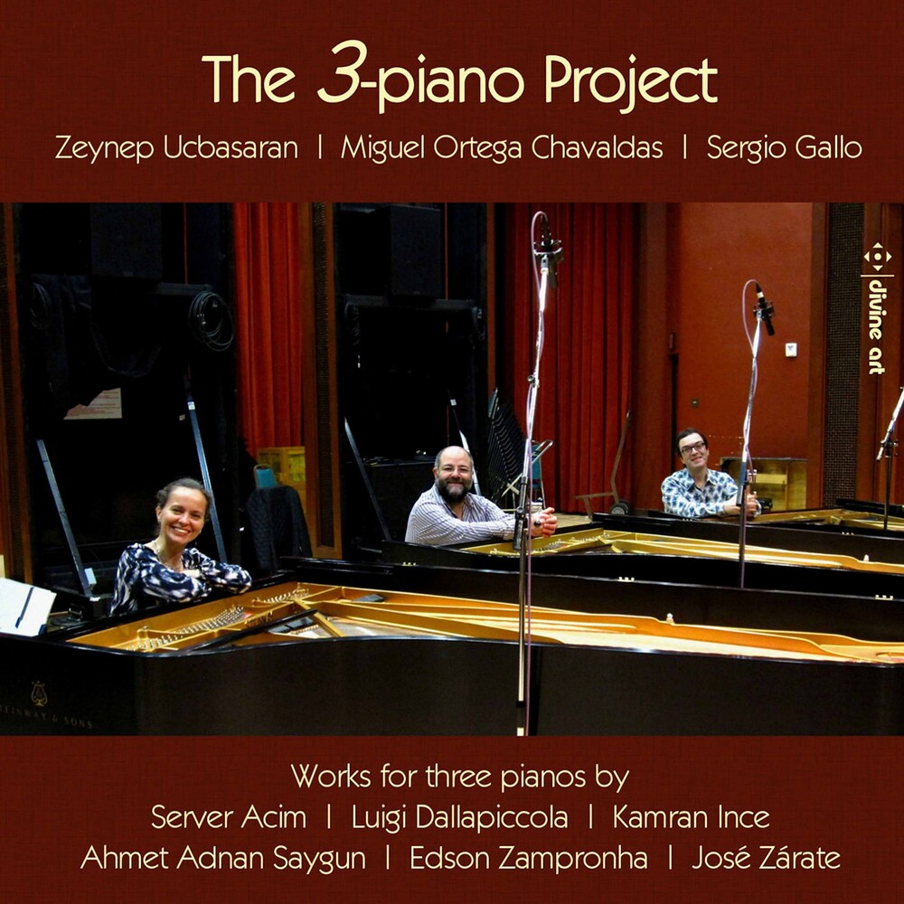 Zeynep Ucbasaran - 3 Piano Project / Various