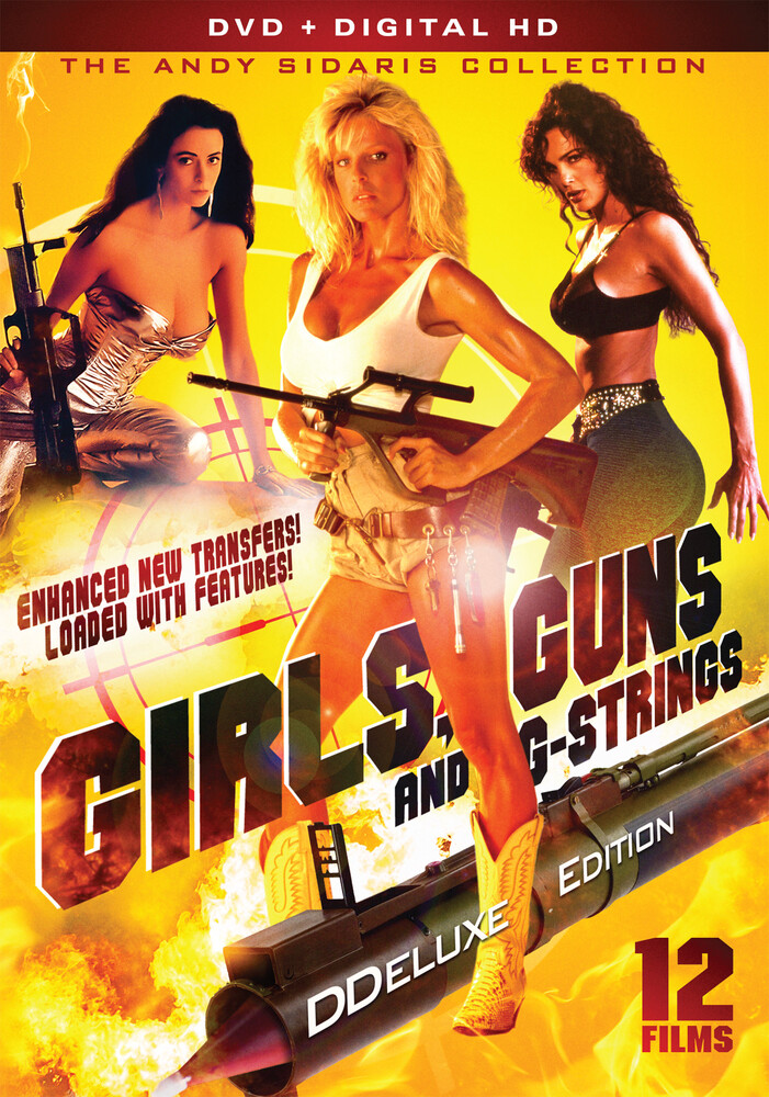 Girls Guns & G-Strings - Deluxe Edition - Girls, Guns and G-Strings: The Andy Sidaris Collection