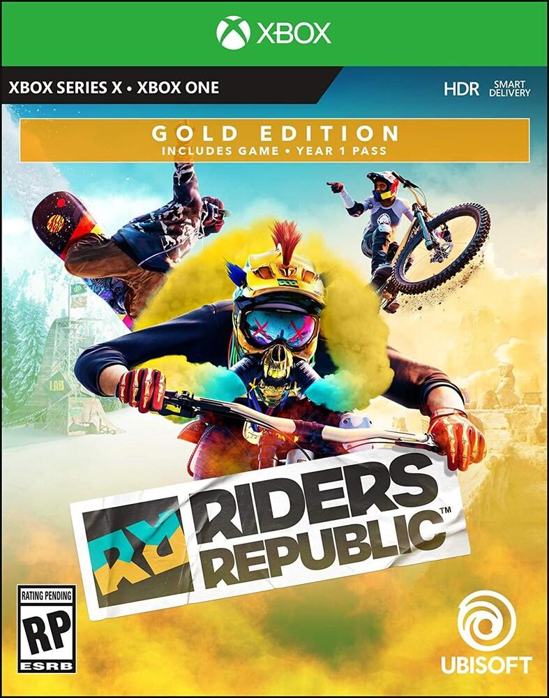 Xb1/Xbx Riders Republic - Gold Edition - Xb1 Riders Republic - Gold Edition