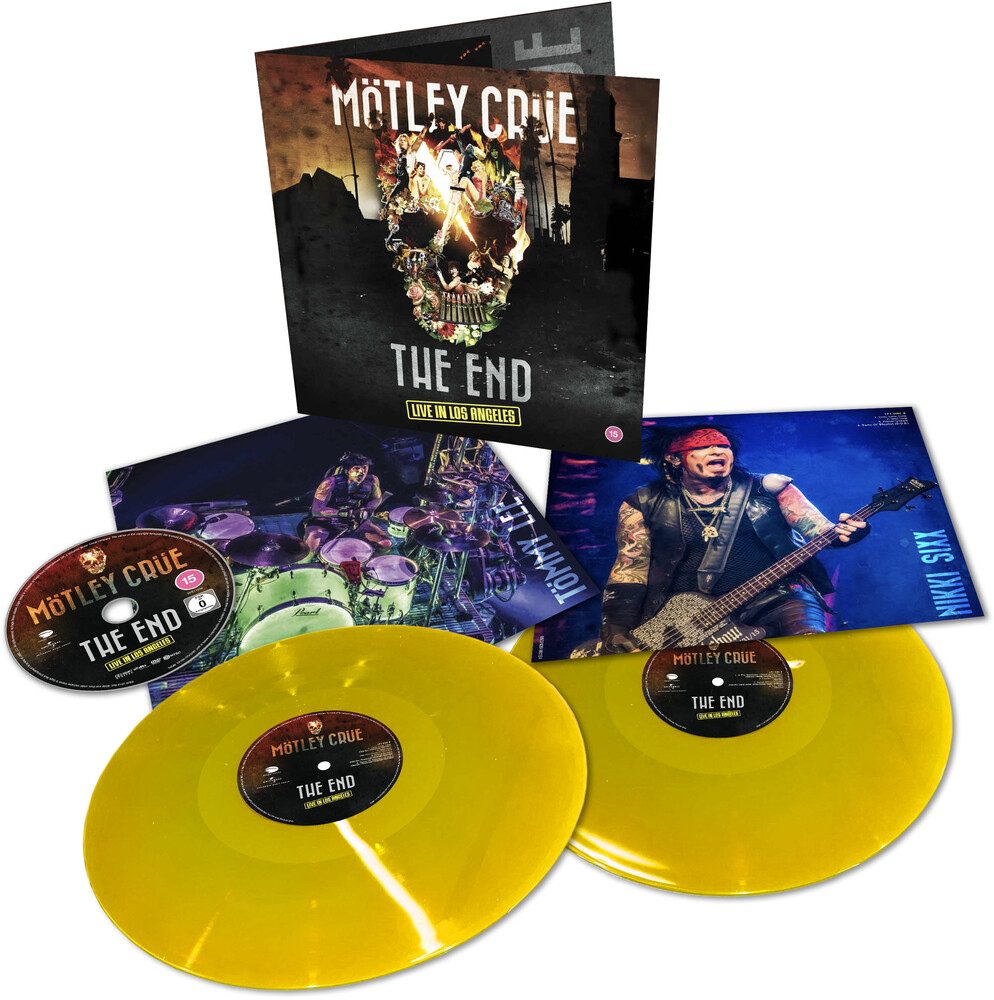 Motley Crue - The End: Live In Los Angeles (2LP+DVD)