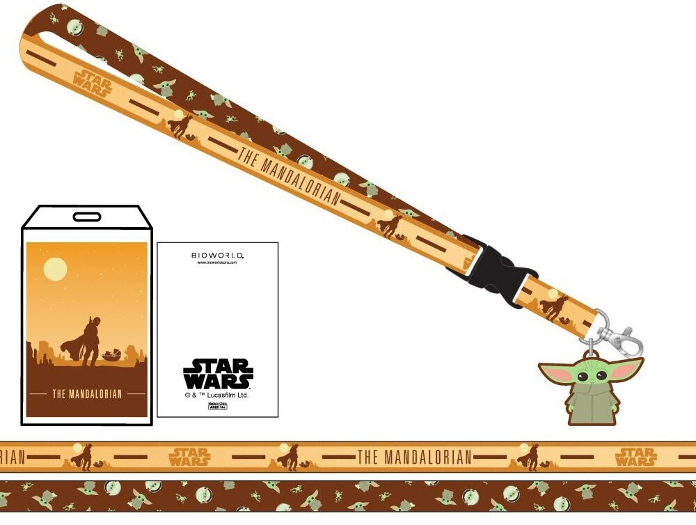 Star Wars Mandalorian Child Lanyard - Star Wars Mandalorian The Child Lanyard