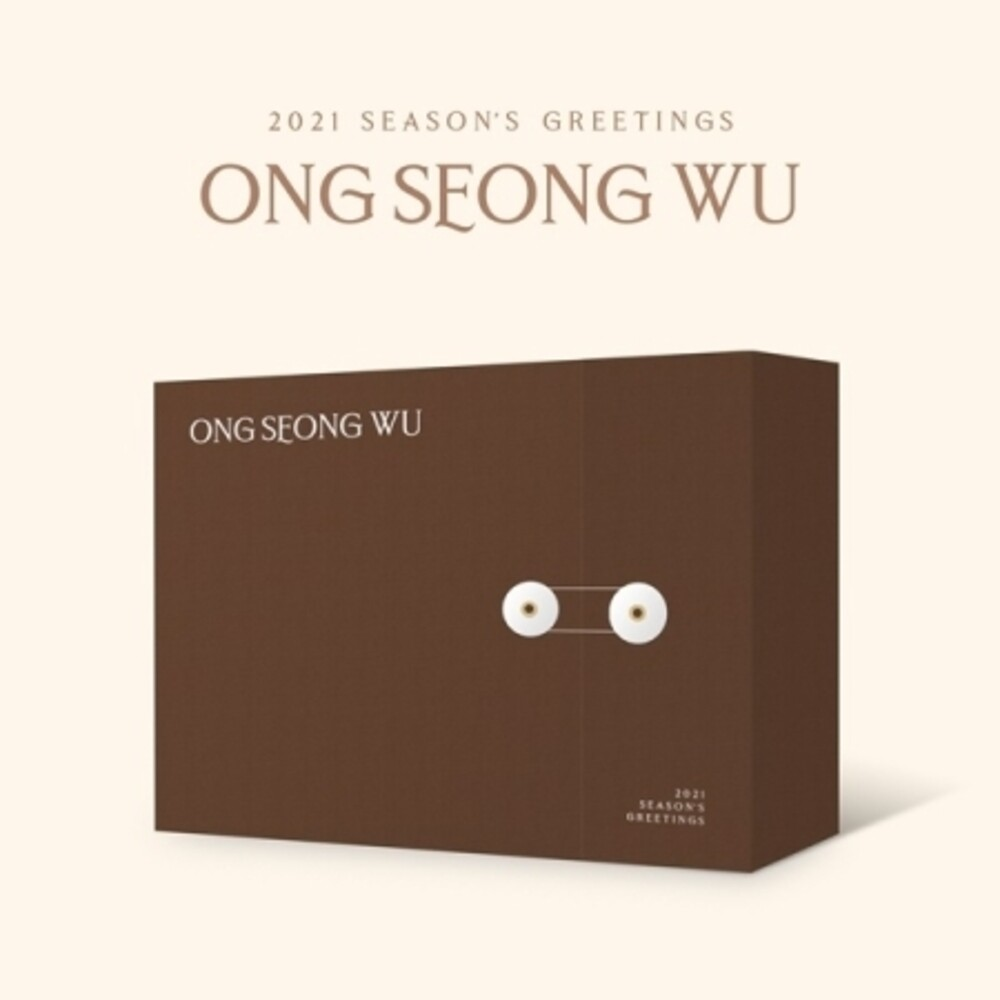 ONG SEONG WU - 2021 Season's Greetings (incl. Desk Calendar, Diary, 120pg Photobook,4pc Polaroid Set, 2pc Sticker Set, Poster Calendar + DVD)