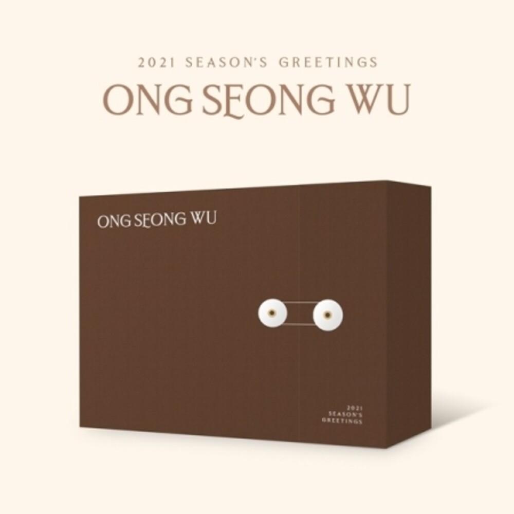 ONG SEONG WU - 2021 Season's Greetings (incl. Desk Calendar, Diary, 120pg Photobook,4pc Polaroid Set, 2pc Sticker Set, Poster Calendar + DVD)