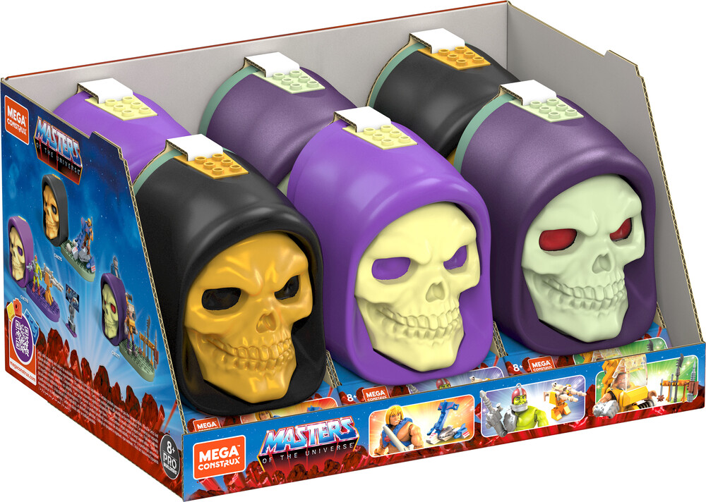 Mega Bloks Masters of the Universe - MEGA Brands - Masters of the Universe Skeletor Skull Assortment (He-Man, MOTU)