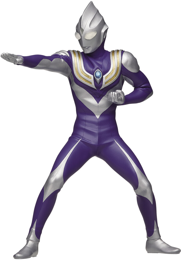 - BanPresto - Ultraman Tiga Hero's Brave Statue Ultraman Tiga Sky TypeFigure