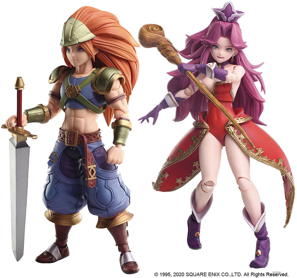 Square Enix - Square Enix - Trials Of Mana Bring Arts Duran & Angela Action FigureSet