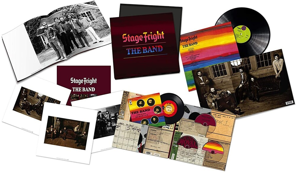 Band - Stage Fright - 50th Anniversary (W/Dvd) (Box)
