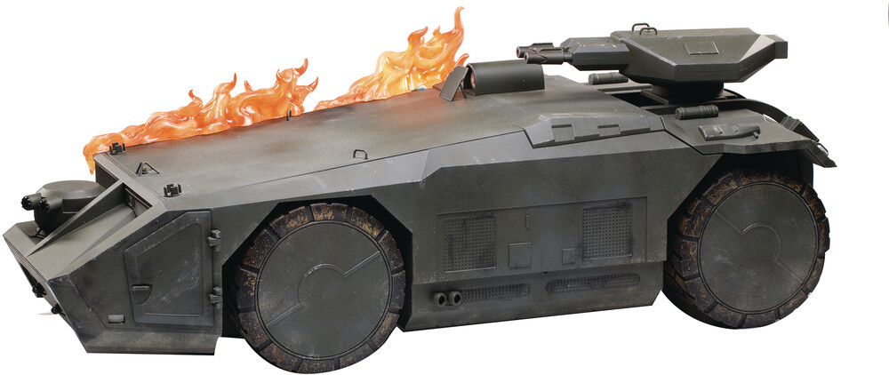 Hiya Toys - Hiya Toys - Aliens Burning Armored Personnel Carrier PX 1/18 ScaleVehicle