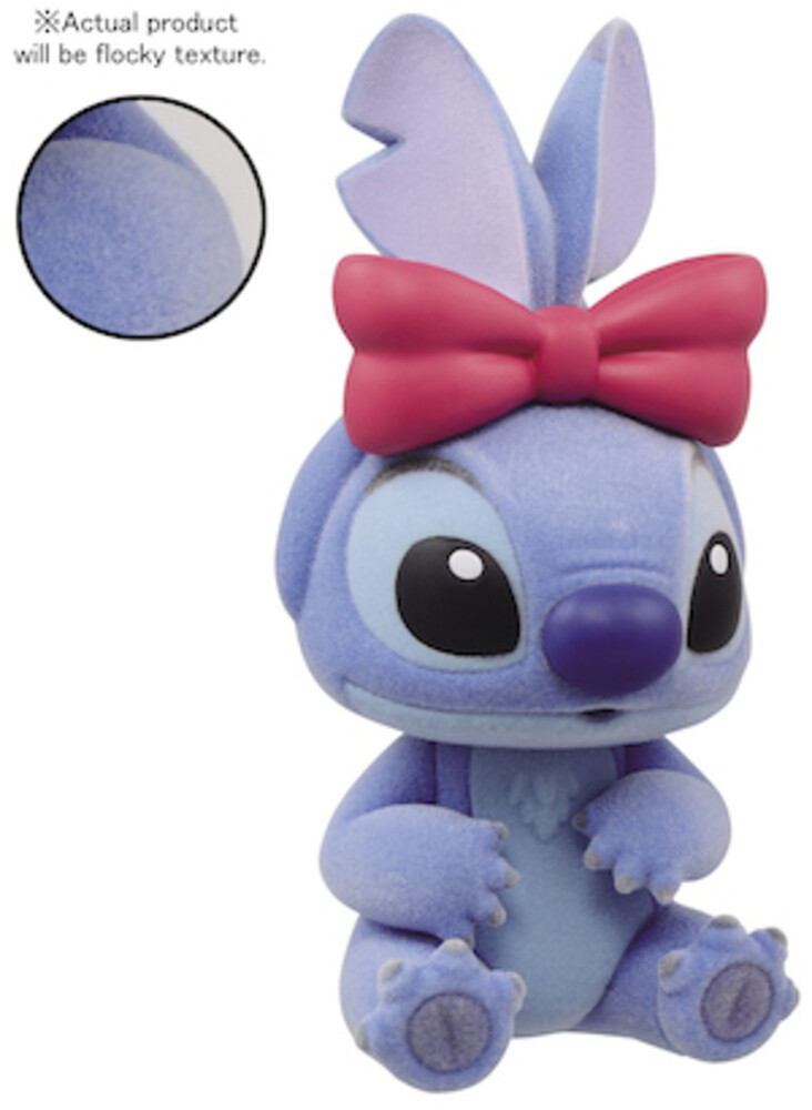 Banpresto - Disney Stitch Fluffy Puffy Figure