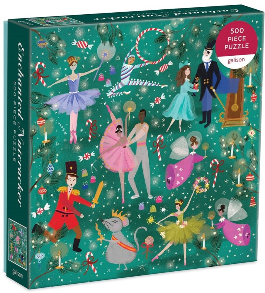 - Enchanted Nutcracker 500 Piece Puzzle