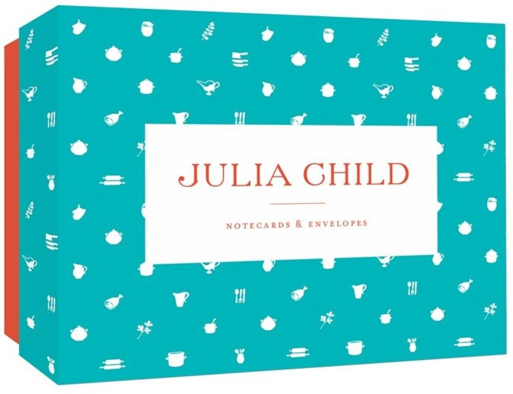 - Julia Child Notecards & Envelopes