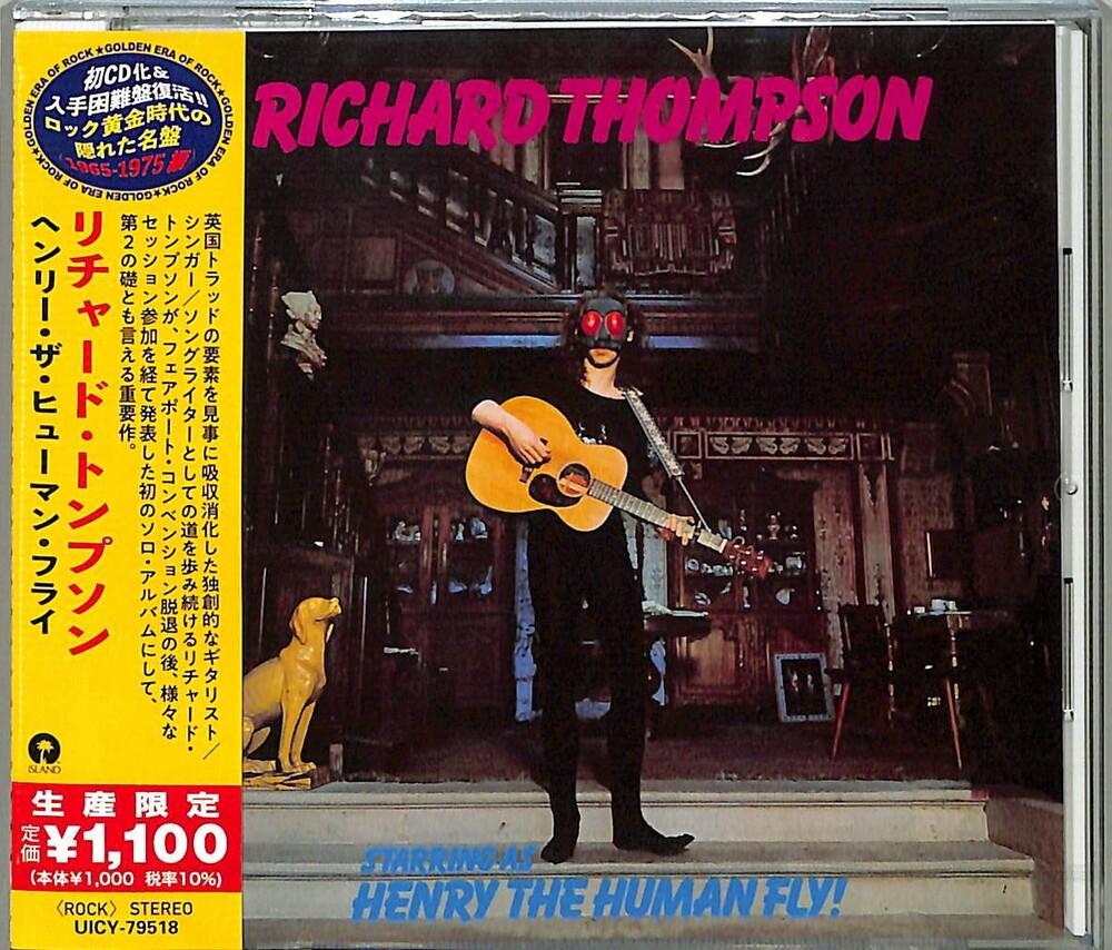 Richard Thompson - Henry The Human Fly [Reissue] (Jpn)