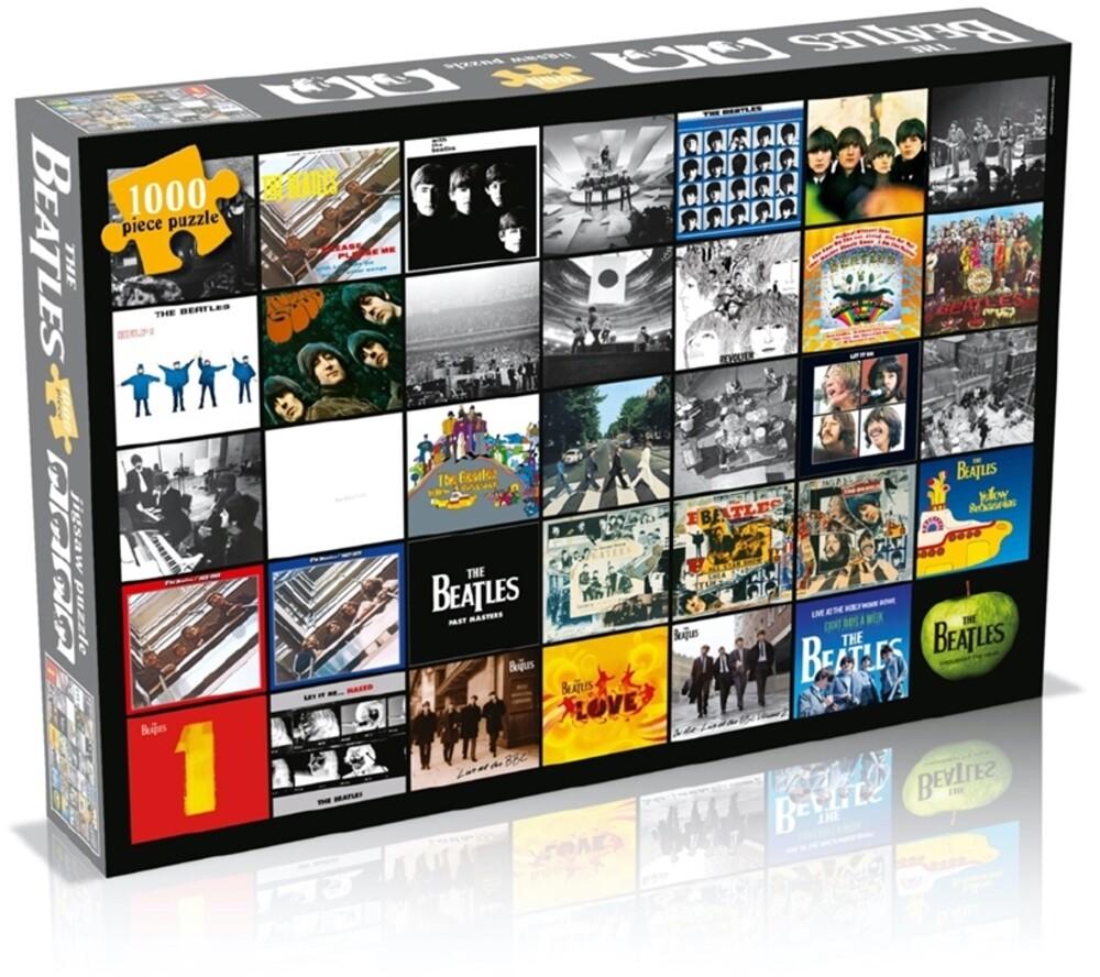 - Beatles Album Collage (1000 Piece Jigsaw Puzzle)