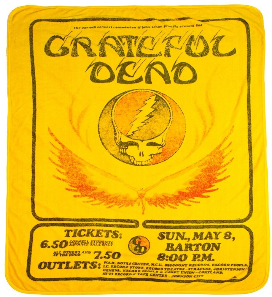 - Grateful Dead Cornell U Barton Hall 1977 Throw
