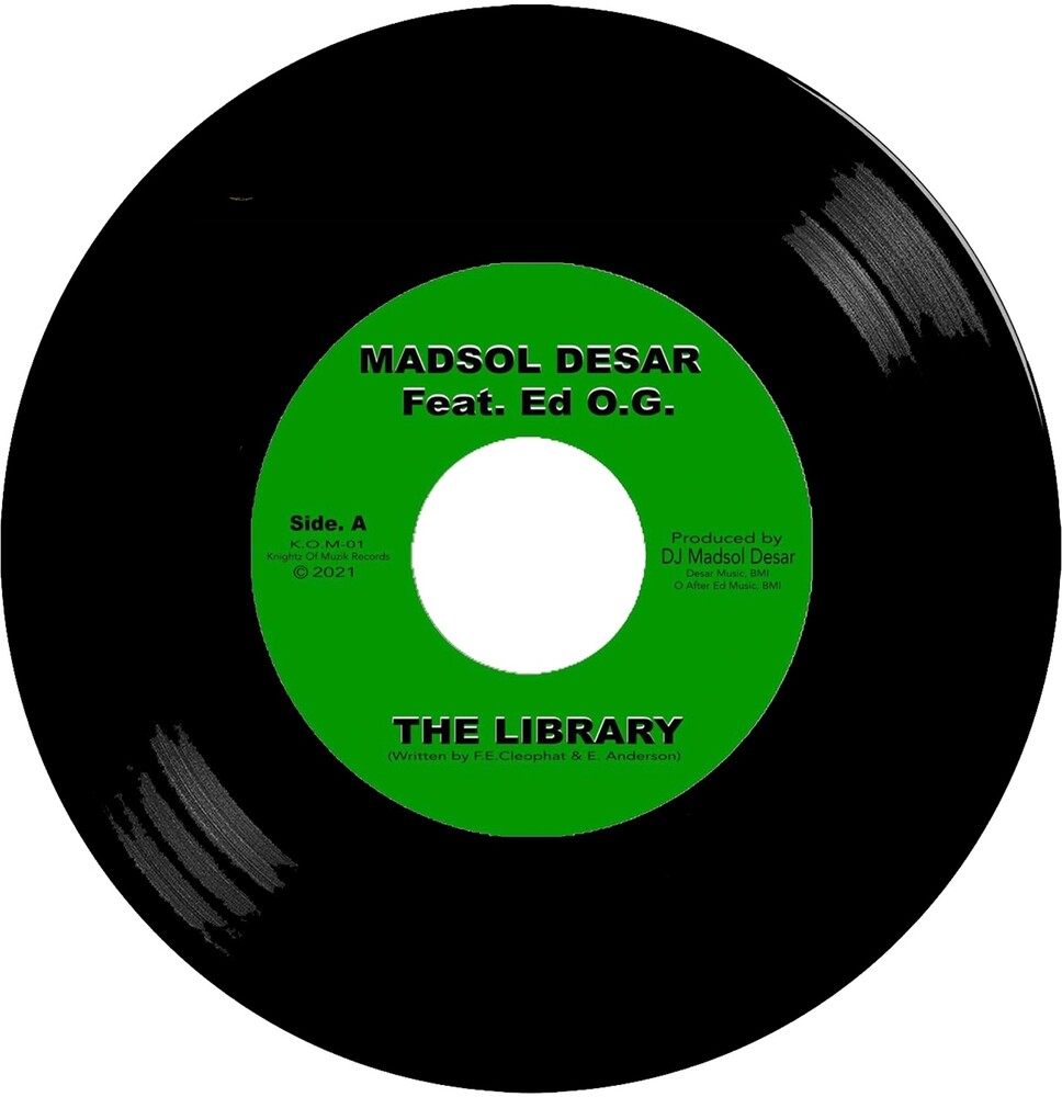 Madsol Desar - Library Feat. Edo G