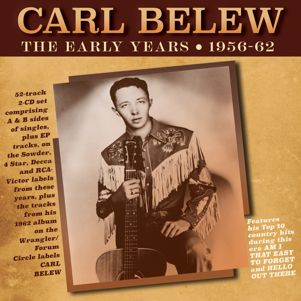Carl Belew - Early Years 1956-62
