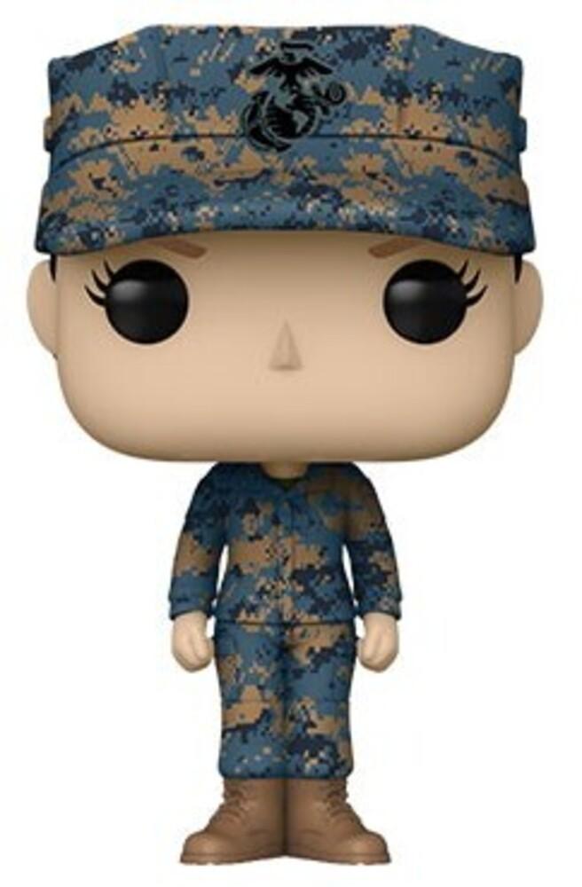 Funko Pop! Millitary: - Marine Female - C (Vfig)