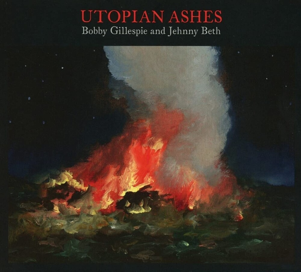 Bobby Gillespie  / Beth,Jehnny - Utopian Ashes [Clear Vinyl] (Spa)