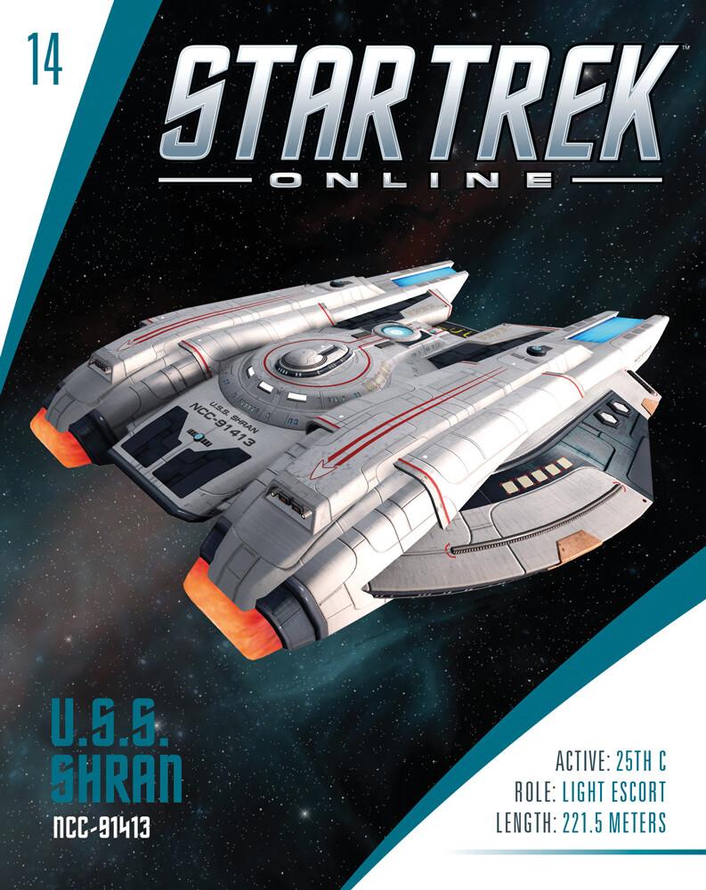 Star Trek Starships - Star Trek Starships - Shran-Class Federation Light