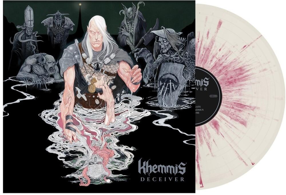 Khemmis - Deceiver [Indie Exclusive] (Bone With Pink Splatter) [Colored Vinyl]