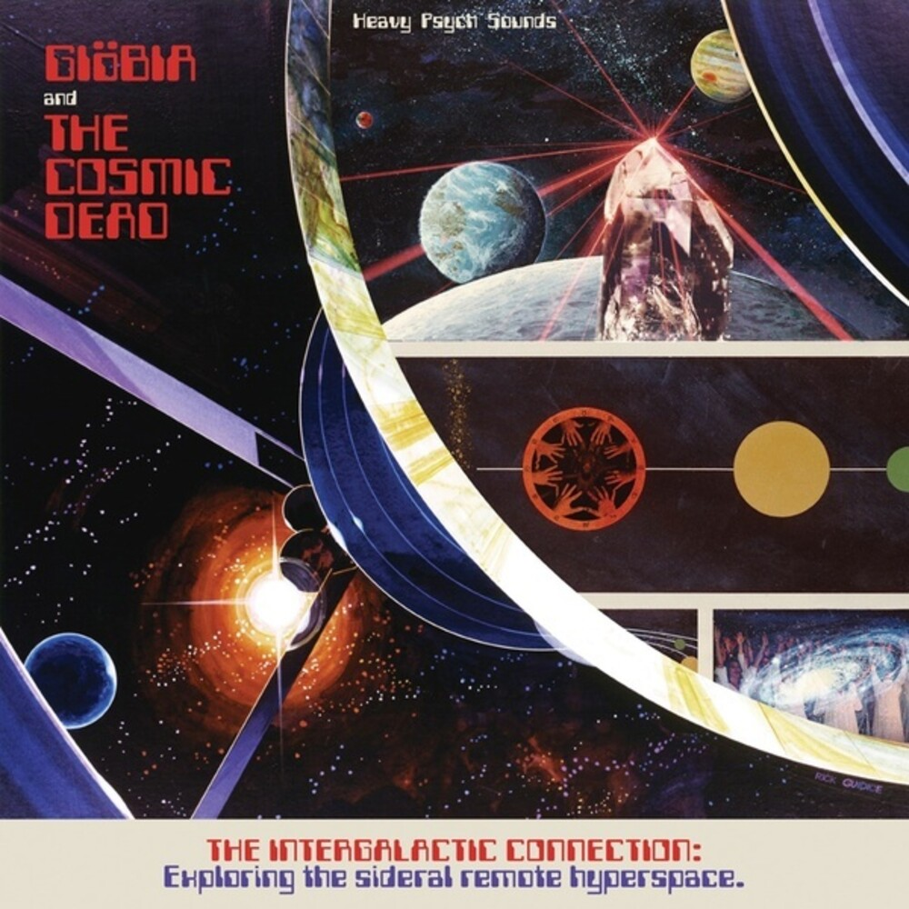 Giobia & Cosmic Dead - Intergalactic Connection: Exploring The Sideral Remote Hyperspace