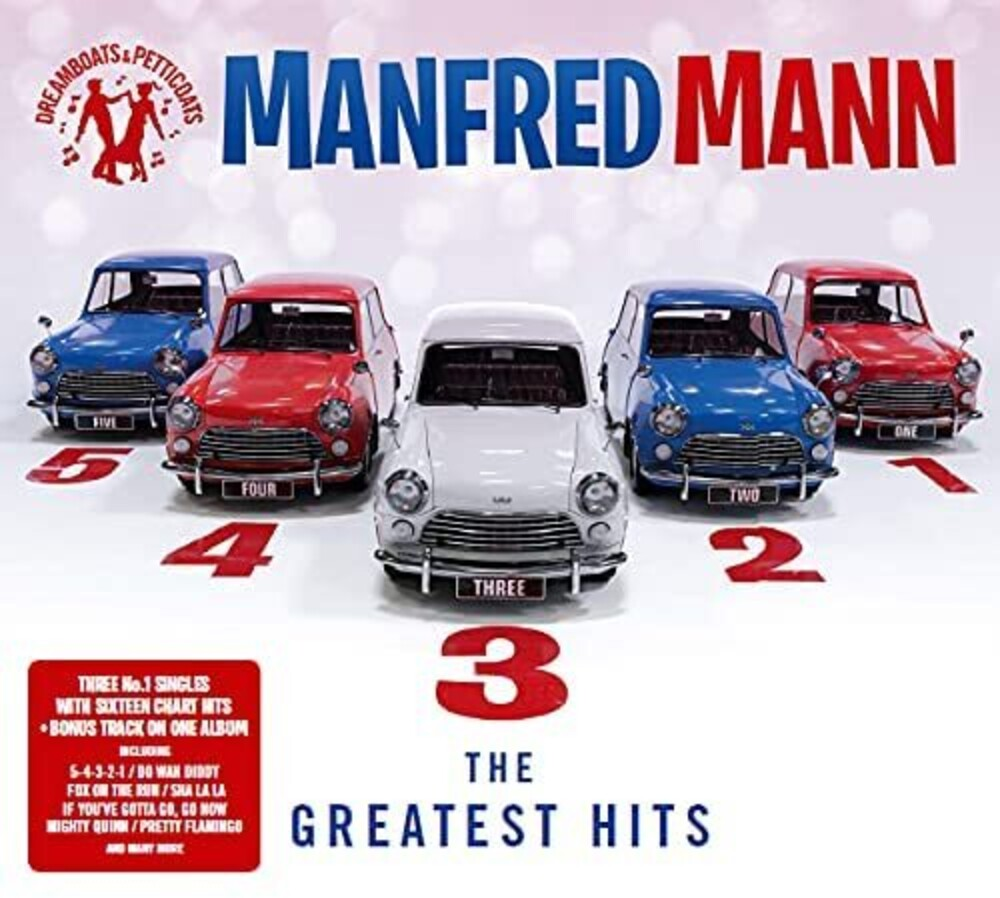 Manfred Mann - Dreamboats & Petticoats Presents 5-4-3-2-1: The Greatest Hits