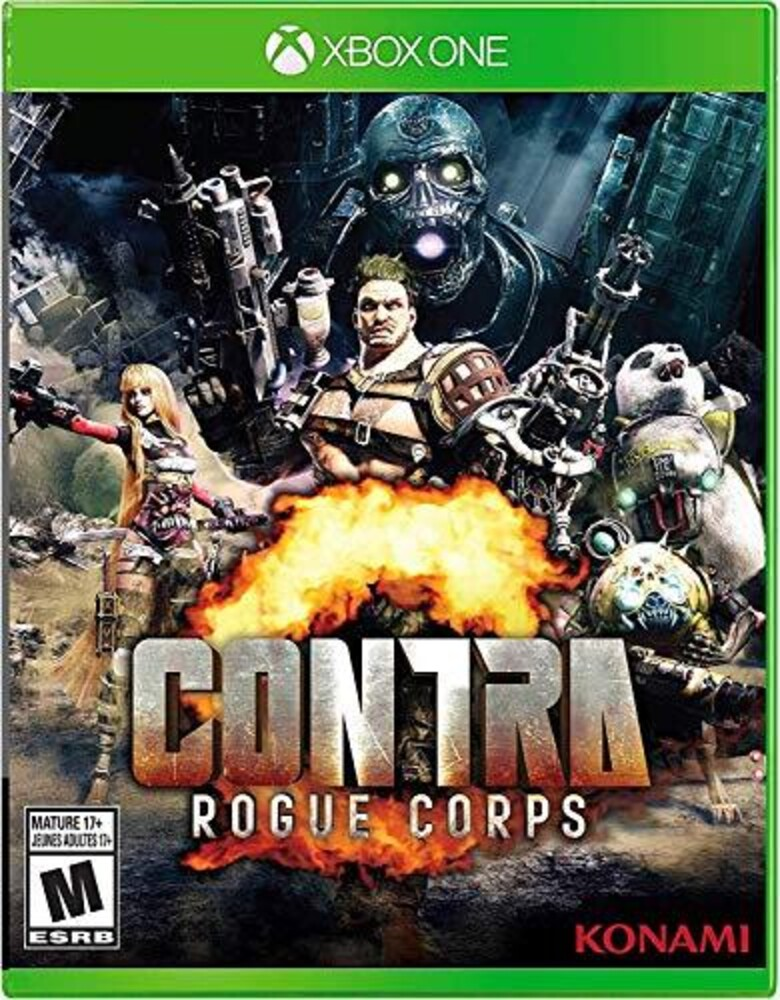 Xb1 Contra Rogue Corps - CONTRA Rogue Corps for Xbox One