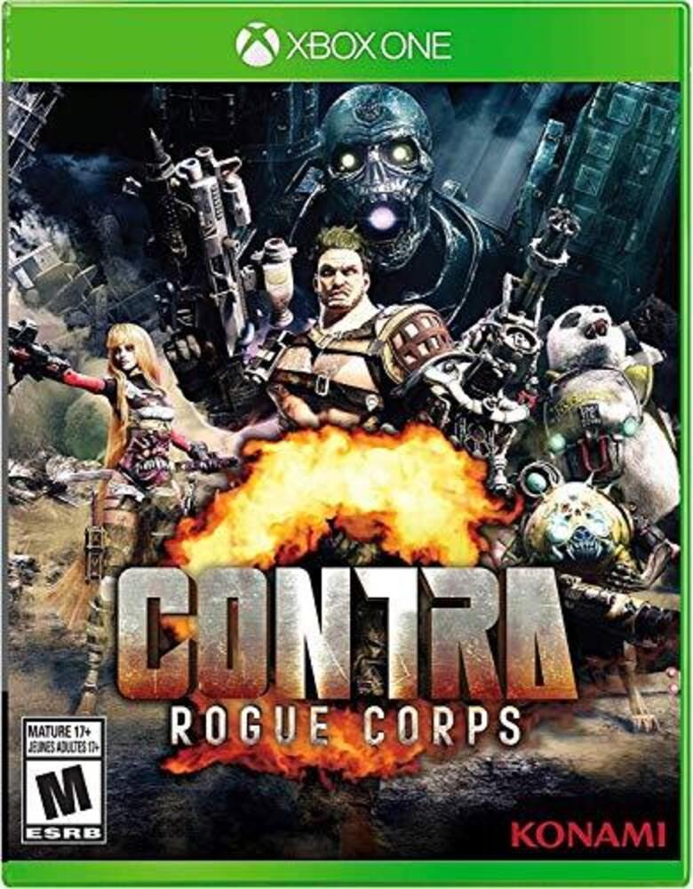 Xb1 Contra Rogue Corps - Contra Rogue Corps