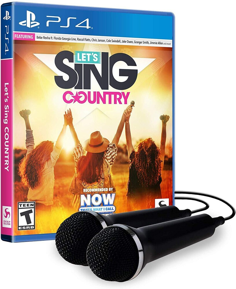 - Lets Sing Country - 2 Mic Bundle