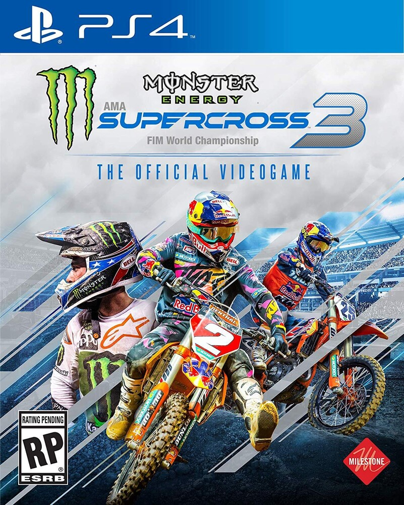 Ps4 Monster Energy Supercross Official Videogame 3 - Monster Energy Supercross Official Videogame 3