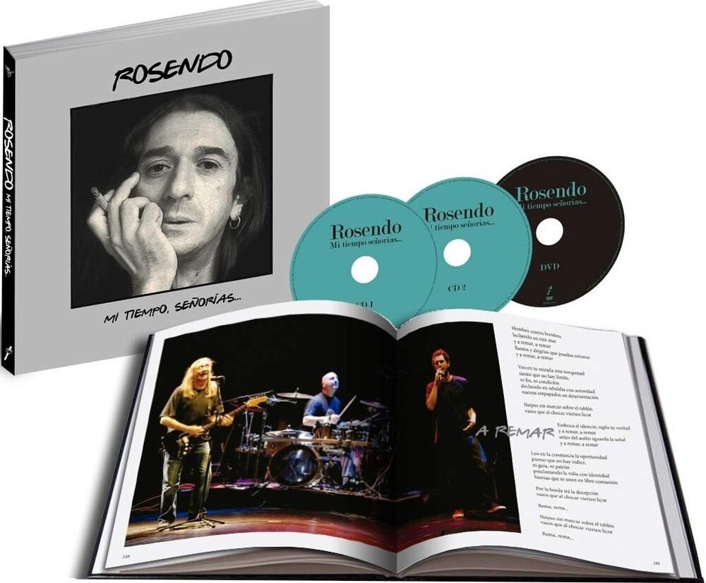 Rosendo - Mi Tiempo Senorias (Book+2CD+DVD)