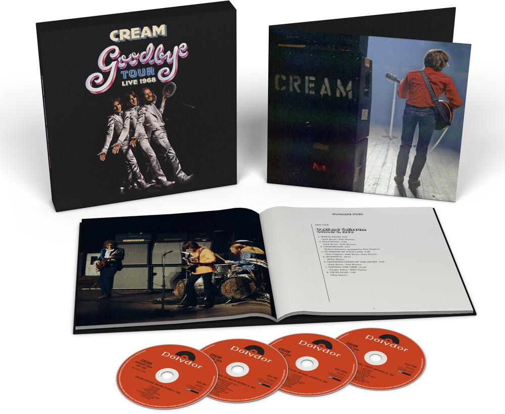 Cream - Goodbye Tour - Live 1968 [4CD Box Set]