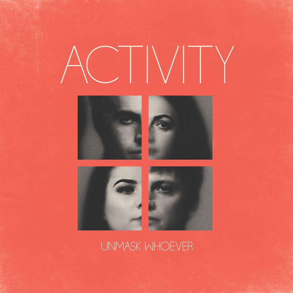 Activity - Unmask Whoever (Color Vinyl) (Blue)