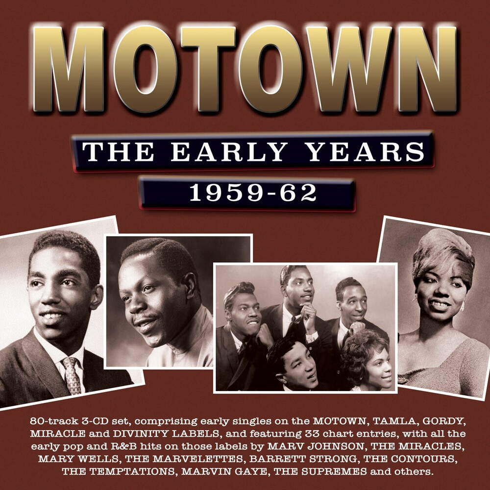 Motown The Early Years 1959-62 / Various - Motown: The Early Years 1959-62 / Various