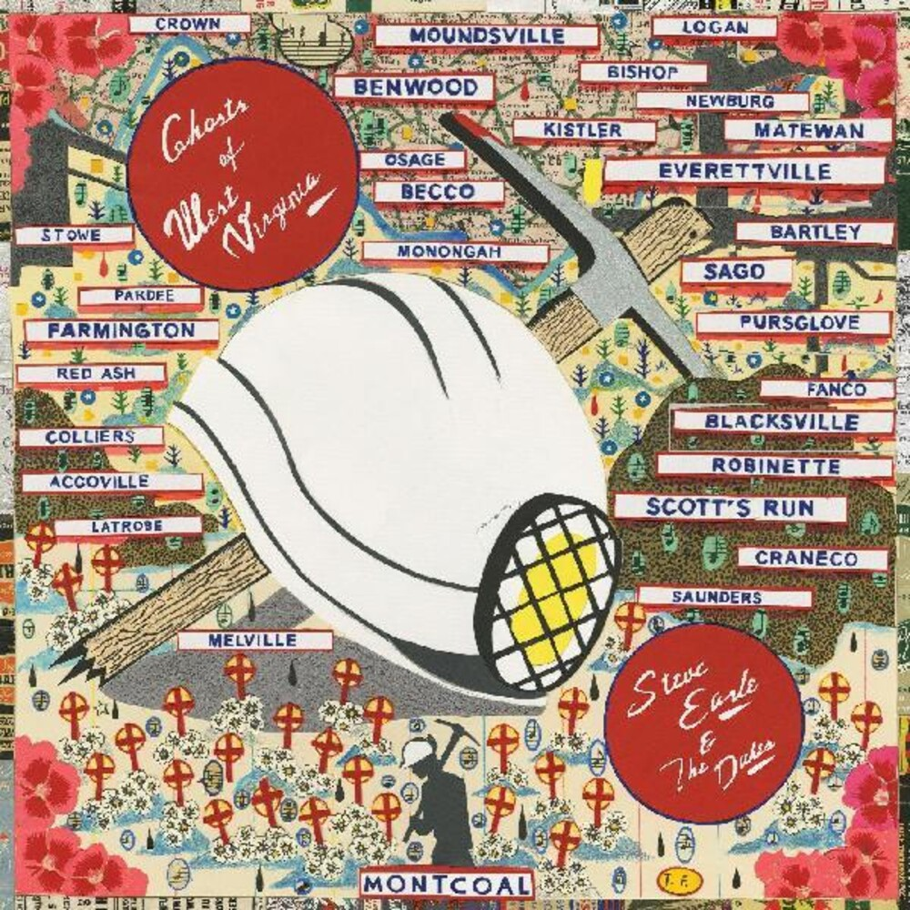 Steve Earle & The Dukes - Ghosts of West Virginia [LP]